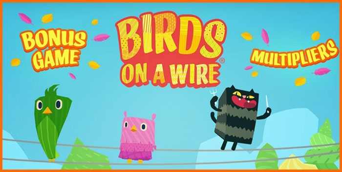 Игровой автомат Birds on a Wire - thunderkick-games.com